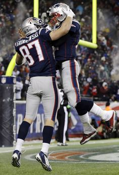 Brady and Gronk