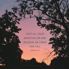 """""""Psalm 56:3 says 'When I am afraid I put my trust in you.' Notice: it does not say 'I never struggle with fear.' Fear strikes and the battle begins. So the Bible does not assume that true believers will have no anxieties. Instead the Bible tells us how to fight when they strike.  For example 1 Peter 5:7 says '[Cast] all your anxieties on him because he cares for you.' It does not say you will never feel any anxieties. It says when you have them cast them on God. When the mud splatters your…"""