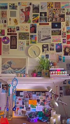 Cute Room Ideas, Cute Room Decor, Hippie Bedroom Decor, Hipster Room Decor, Room Ideas Bedroom, Bedroom Inspo, Bedroom Wall, Grunge Room, Room Ideias