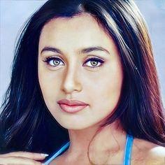 Bollywood Girls, Vintage Bollywood, Bollywood Actress, Aishwarya Rai Photo, Rani Mukerji, Katrina Kaif, Indian Actresses, Hair Beauty, Hollywood