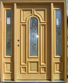Oval Glass Door With Side Lite Front Doors Pinterest