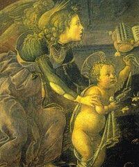 Kindje Jezus en een beschermengel