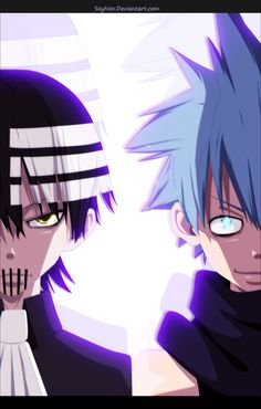 Soul Eater - Kid and Black Star by SeyNox on DeviantArt