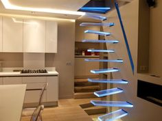 Awesome Stairs Design Home. Now we talk about stairs design ideas for home. In a basic sense, there are stairs to connect the floors Interior Stairs, Home Interior, Interior Design, Kitchen Interior, Stairs Architecture, Interior Architecture, Contemporary Architecture, Escalier Design, Design Fails