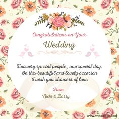 52 happy wedding wishes for on a card birthday wishes pinterest wedding cards wedding invitations wedding quotes wedding congratulations wishes wedding wishes messages m4hsunfo