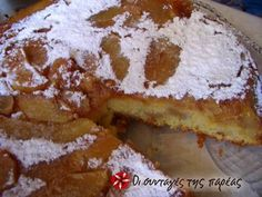 See related links to what you are looking for. Greek Sweets, Greek Desserts, Sweets Recipes, My Recipes, Greek Recipes, Recipies, Homemade Sweetened Condensed Milk, Greek Cake, Low Calorie Cake