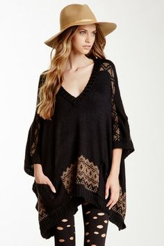 TART Shai Poncho by Non Specific on @HauteLook