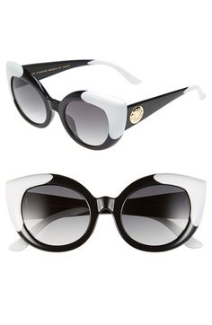 Free shipping and returns on CRAP Eyewear 'The Diamond Brunch' 55mm Sunglasses at Nordstrom.com. Exaggerated cat-eye frames fuse retro glamour with downtown edge to create sophisticated sunglasses with timeless appeal.