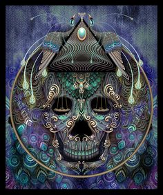 ❤Skull of scales