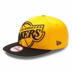 Los Angeles Lakers 2012 Big Punch 9Fifty Snapback Hat (Yellow Black) Nba  Hats 1f0979530b98