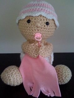 Baby Crochet Pattern by DawnieDolls on Etsy, $3.50