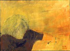 """Saatchi Online Artist Zek  ; Painting, """"self-portrait"""" #art"""