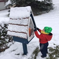 How to Winterize your Little Free LibraryYou can find Little free libraries and more on our website.How to Winterize your Little Free Library Little Free Library Plans, Little Free Libraries, Little Library, School Library Decor, Little Free Pantry, Street Library, Eagle Project, Library Organization, Mini Library