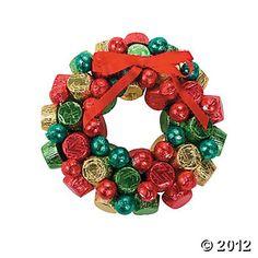 Christmas Chocolate Wreath