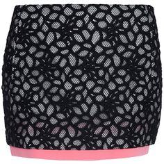 DIANE VON FURSTENBERG Elley Mini Shadow Skirt ($360) ❤ liked on Polyvore