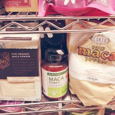Maca powder, a plant extract that improve the body's ability to adapt to physical, chemical and biological stress (i.e. intense workouts, inflammation, ect).  This is a really good blog.