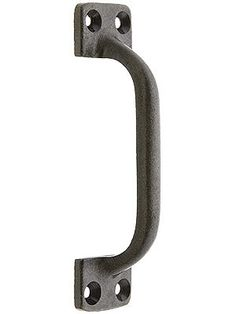 """(small appliance pull for dishwasher & trash compactors) 3 1/2"""" On Center Cast Iron Handle"""