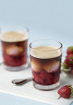 The fresh flavor of this scrumptious Strawberry Iced Coffee recipe is the perfect way to use up those summer berries in your fridge. The result is a scrumptiously cool, creamy coffee concoction to enjoy all season long!