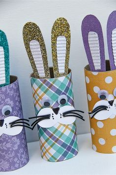 If you are looking for a last-minute Easter craft to keep little fingers busy this weekend, especially if you are entertaining, then these paper roll bunnies are perfect. Older children will be able to cut out all of the parts for these bunnies on their own, but for little ones, pre-cut all of the parts …
