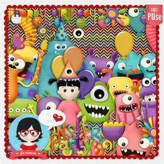 Kit Digital Monstros em Festa by Fa Maura ...........  http://scrap-team.com/shop/index.php?main_page=product_info&cPath=276_232_230&products_id=8563#.Uki9GYZQEa4  http://famaura.com/shop/index.php?main_page=product_info&cPath=67_3&products_id=1626#.Uki8ioZQEa4