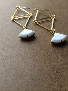 Westbrook Earrings by adjewelry on Etsy