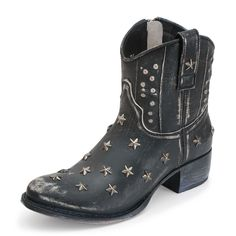 Sendra Boots 10600 SARA RASPADO NEGRO
