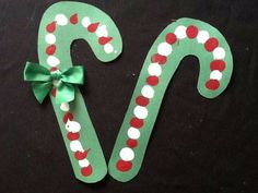 Candy cane craft                                                                                                                                                                                 More