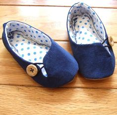 These are cute kid's shoes, but I'd like to make some adult slippers like these.