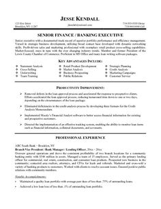 Resume Examples And Banking Sample Template Cipanewsletter