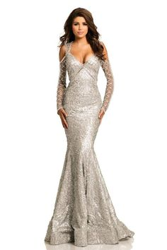 0d3528177dfc 11 Best Johnathan Kayne images | Evening gowns, Formal evening ...