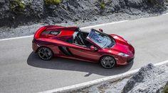McLaren MP4-12C Spider revealed - BBC Top Gear