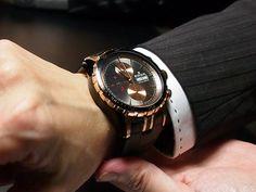 Edox Grand Ocean automatic chronograph