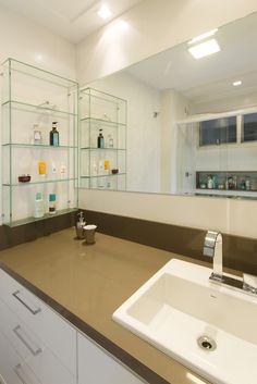 Banheiro   Lavabo   Projeto Ana Trevisan Arquitetura e Paisagismo Florianópolis - SC