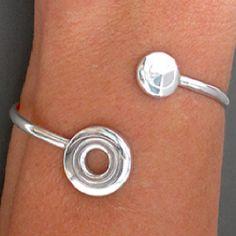 Flute key bracelet.