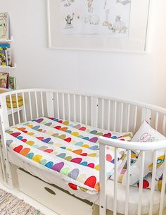 Stokke Sleepi Convertible Crib in White via My Full House Blog