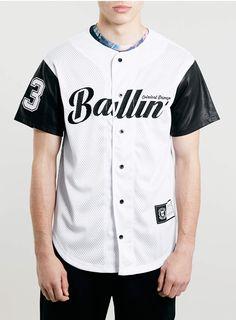 Criminal Damage Baseball Top* - Men's T-Shirts & Vests - Clothing - TOPMAN