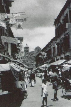 HOCK LAM STREET, SINGAPORE - 1945