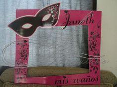 marco para XV AÑOS by Linda Anguiano | MARCOS GIGANTES | Pinterest