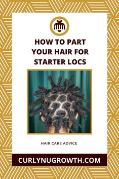 After you've decided that you're ready to begin your loc journey, the next step is determining how to part your hair for your starter locs. Starter Locs, Healthy Hair Growth, Hair Care Routine, Used Parts, Black Women Hairstyles, Journey, Tips, Hairstyles For Black Women, The Journey
