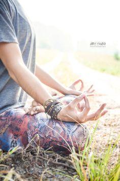 outdoor yoga session| hot asana teacher Lisa Tiffany by AMY YOUNG, via Behance