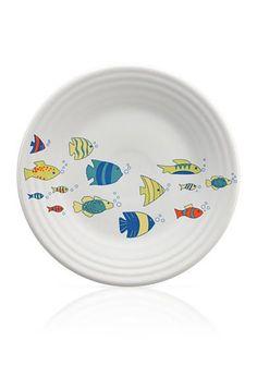 "Fiesta® Dinnerware ""Under the Sea"" Luncheon Plate exclusively at Belk"