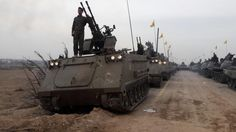 15 November 16 Hizballah flaunts tanks and missiles in Syria military parade