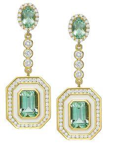 Vir Jewels cttw Certified Diamond Stud Earrings White Gold with Screw Backs – Fine Jewelry & Collectibles Art Deco Earrings, Hanging Earrings, Art Deco Jewelry, Jewelry Gifts, Jewelery, Fine Jewelry, Jewelry Design, Antique Jewelry, Vintage Jewelry