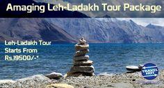 Amazing Leh-Ladakh #TourPackage, startiing from 19500.