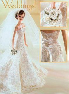 Herrera wedding Barbie