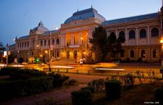 The Alexandru Ioan Cuza University of Iasi, Romania. I taught English classes here. Capital Of Romania, Cultural Capital, The Province, Modern Buildings, Old City, Teaching English, Hungary, Old Things, Europe