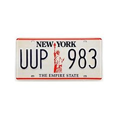 Plaque américaine USA licence plate NEW YORK The Empire State