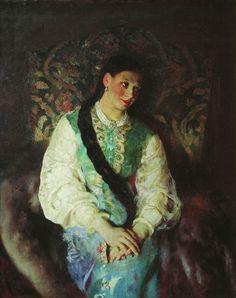 Anushka by Pavel Petrovich Chistyakov