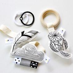 Dreamer Organic Baby Toy Set / Dream Catcher / by BabeeandMe