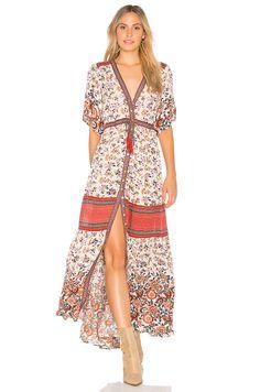 Beautiful boho dress & booties #boho #style #fashion